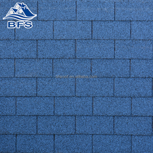 Hot sale Colorful Cheap Price 3 tab blue roofing shingles