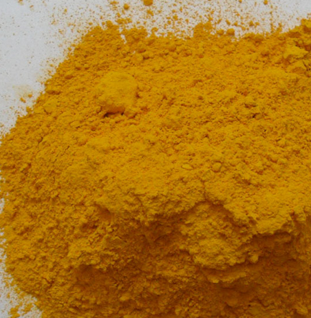 Iron Oxide Orange Pigment for the Oil Paint