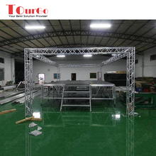 Tourgo Aluminum Portable Stage /Concert Stage / Mobile Stages with Aluminum Truss for Sale