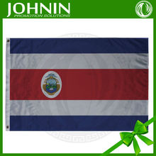 wholesales cheap price factory directly sales polyester material costa rica flag country flag