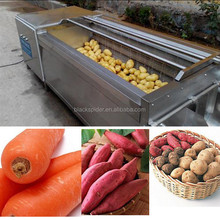 vegetable&fruit processing production line washing machines