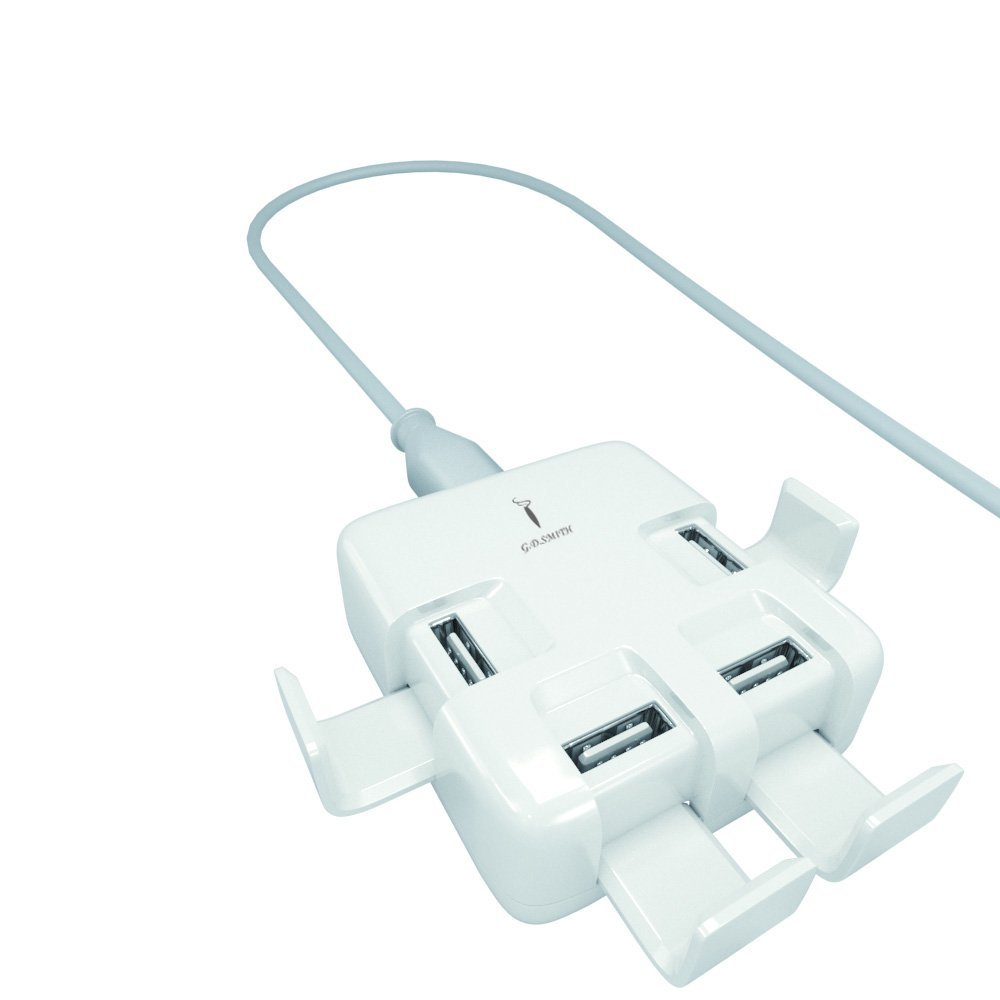 cell phone 4 port USB wall charger