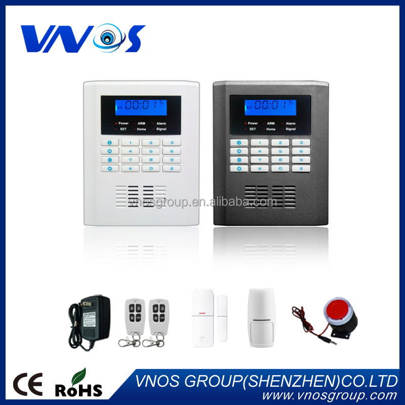 Top quality best selling 99 zones gsm pstn dual network burglar alarm system
