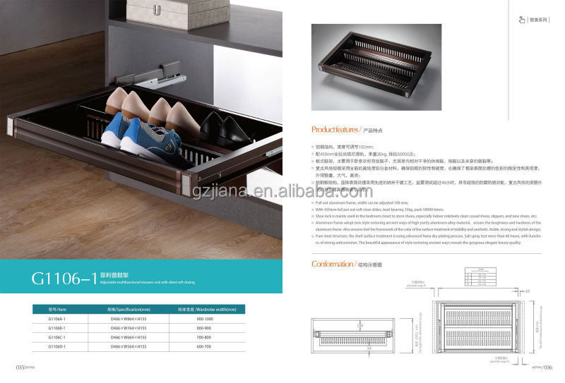 China closet rack manufacturer metal shoe rack