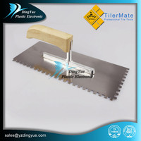 TilerMate Tools Professional stainless steel paint scraper with Wooden Handle
