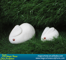 small stone sculpture rabbit