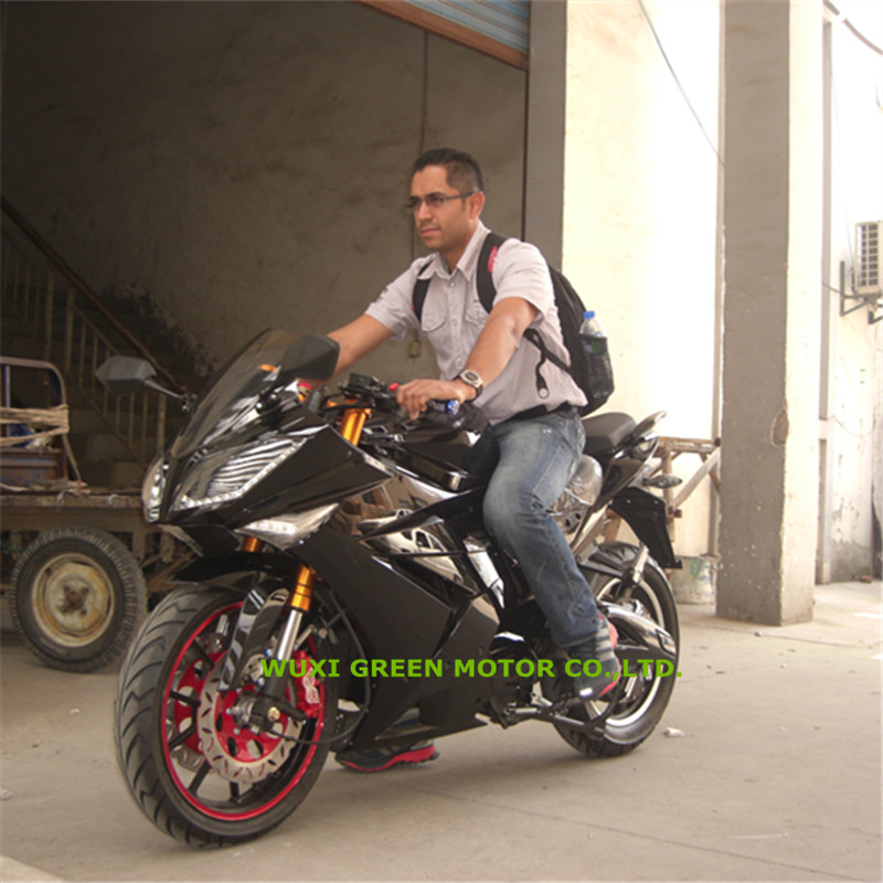 electric motorbike 5000w sport e motorcycle China factory