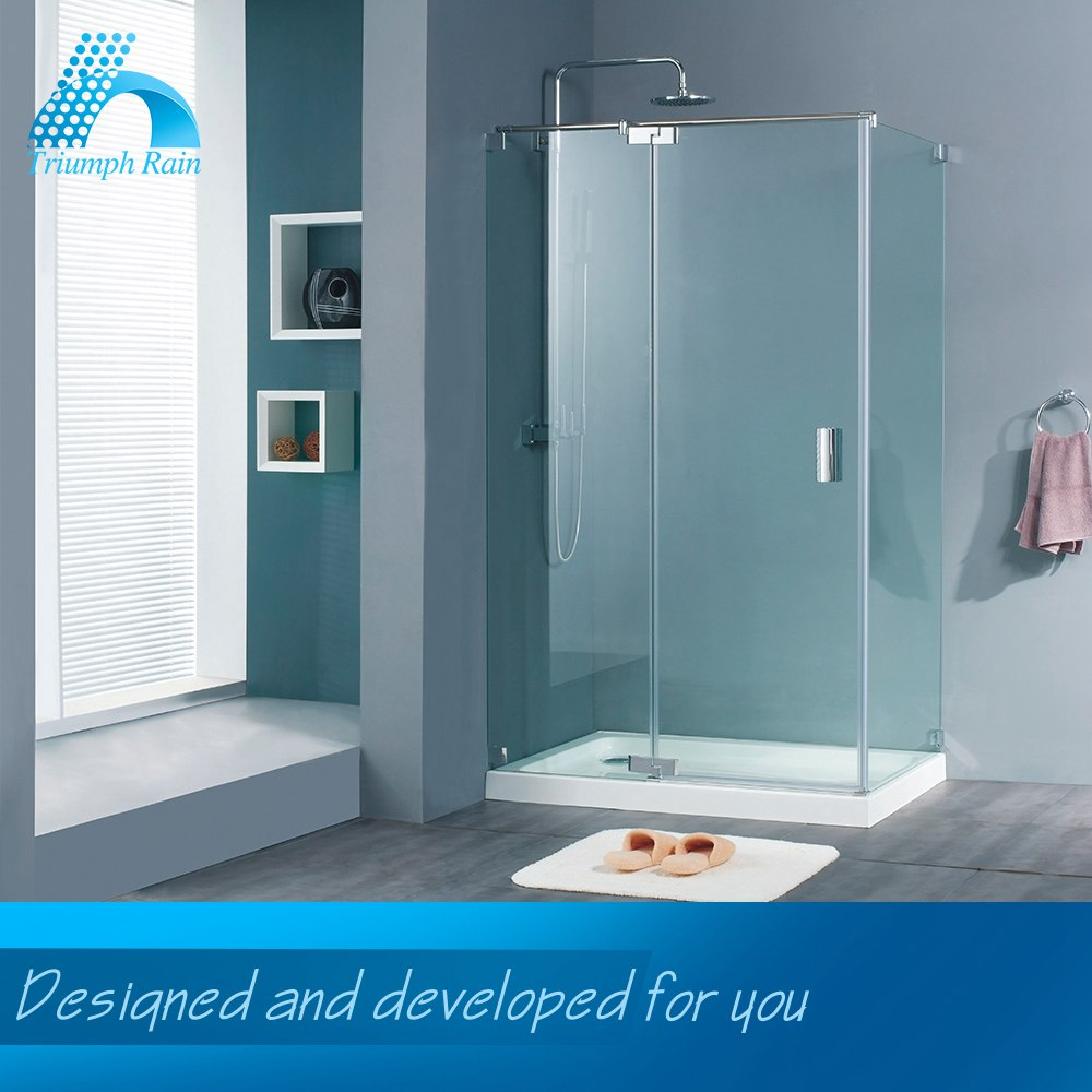 Direct Factory Price Polished Glass Partition Shower Room Bathroom Product