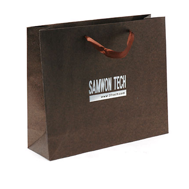 Professional Factory Supply OEM design multi-color kraft paper gift bag fast shipping