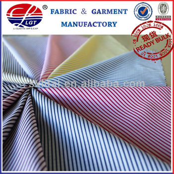 Stripecotton micro fabric
