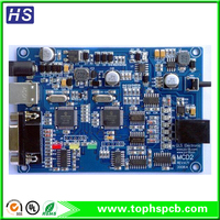 multilayer SMT PCB assembly with FR4 material