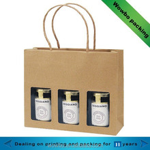 Custom Made Gift Food Packaging Bag with Compartments, Honey Packaging Bag