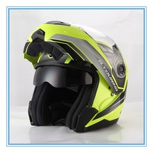 2016 modular filp up motorcycle helmet with ECE DOT