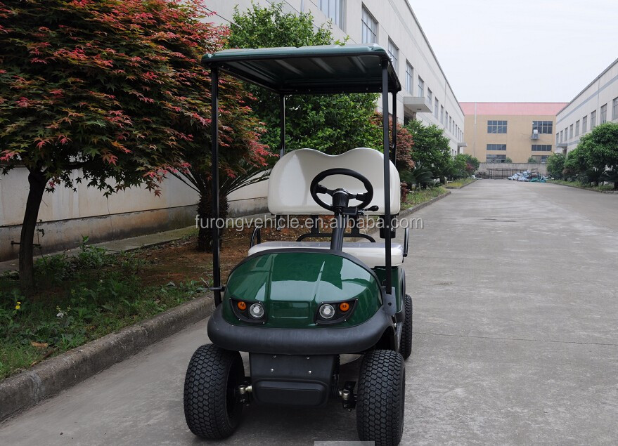 Most popular large size four wheel one seat electric golf buggy FF-SS-02