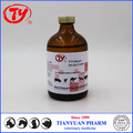 Veterinary Iron supplement Iron Dextran 5% Injection for livestock