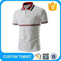 100% Cotton High Quality Customized Logo Printed Casual Blank Polo Shirt 200 grams