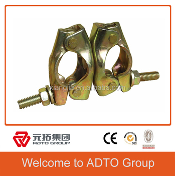 Durable and Safety Scaffold British Putlog Coupler 48.3MM/0.62kg for africa