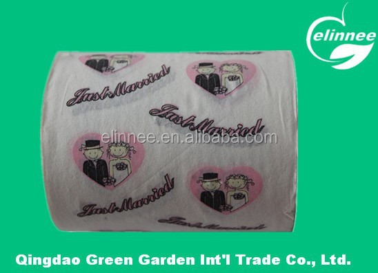 individual wrapping high quality customized printed toilet tissue paper