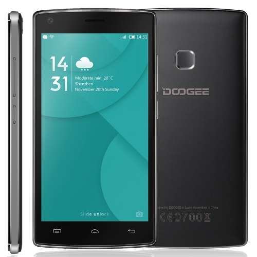 Big stock wholesale DOOGEE X5 MAX 8GB, Android 6.0 Network: 3G mobile phone from china with fast delivery