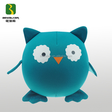 Promotion Owl Shape Soft Toy For Kid