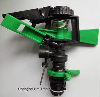 Plastic garden irrigation water sprinkler head
