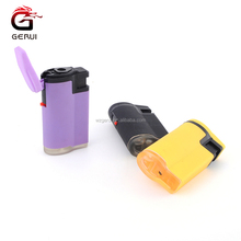 Silicone Case Colorful Design Butane Gas Torch Lighter