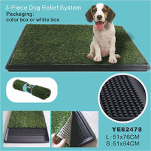 Top Quality Indoor Environmental Simple Grass Dog Toilet/Dog Pants