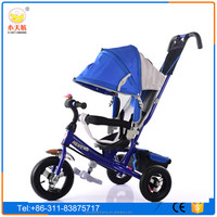 2016 wholesale new model baby tricycle / Price children tricycle with push bar / cheap kids tricycle for sale