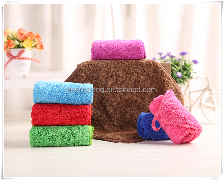 Microfiber hand towels good absorbent