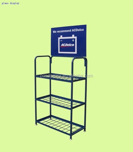 High quality metal engine oil display rack