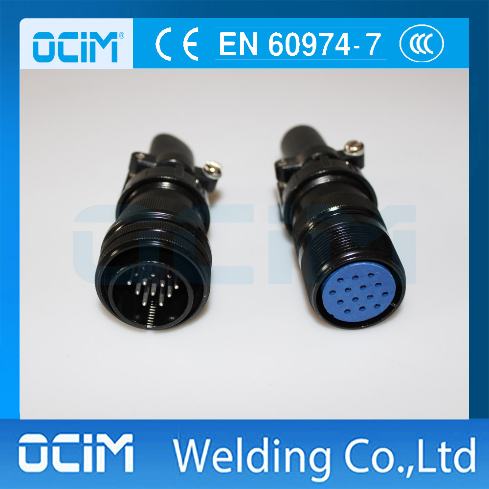 14 Pin welding Cable Connector Male Female Plug and Sockets