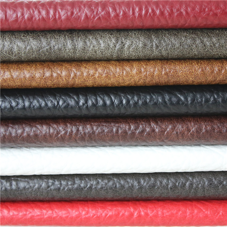 Lichee Pattern PU Leather for Sofa chairs
