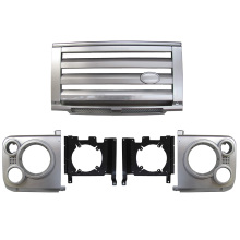 Plastic Front Car Chrome Grille Guard For LandRover Defender