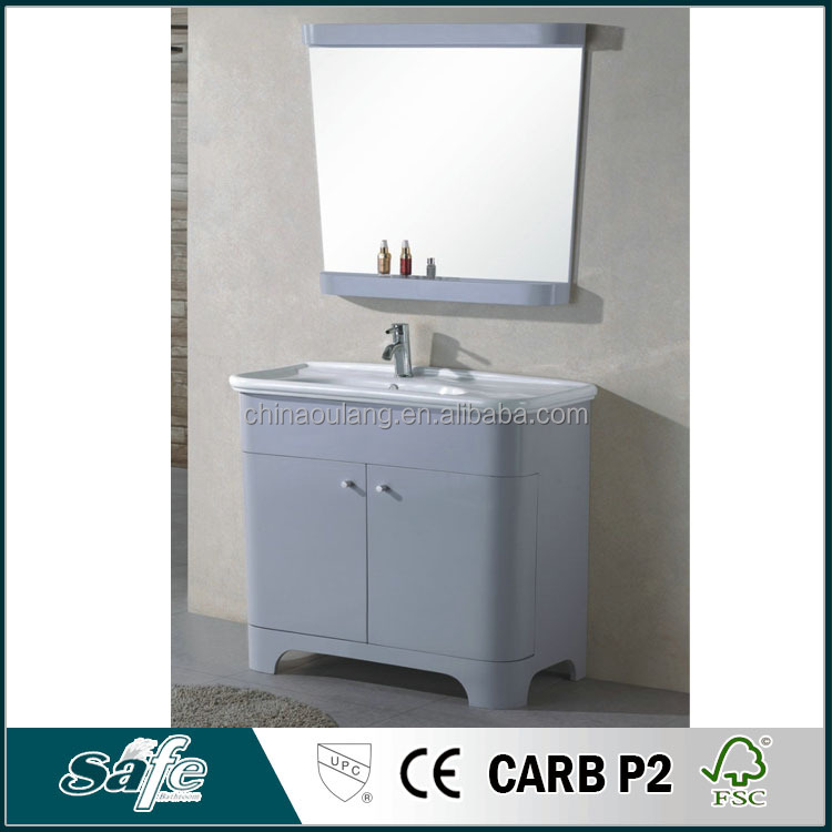 irregular shape bathroom vanity bathroom furniture set