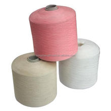 Factory provide high quality cheap low hairiness polyester cone spun yarn