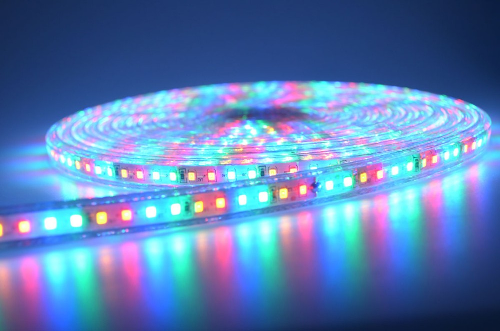 SMD2835 high pressure led strip light with waterproof RGB led strip light