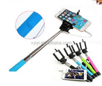 (Factory Supply) Cable Take Pole Selfie Stick Z07-5S, Monopod Selfie Stick with Cable Z07-5S, Wired Selfie Stick Monopod Z07-5S