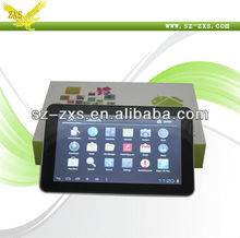 ZXS-9 Inch Cheap Tablet /Capacitive Touch Screen Tablet /8GB Flash Mini Laptops/Boxchip Allwinner A13 CPU Tablet PC Laptop