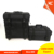 360 degree black nylon professional rolling cosmetic makeup case with drawer