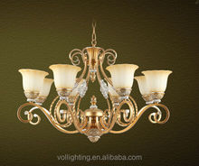 New product European style hotel projects chandelier lighting pendant lamp VOL