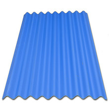 Anti- UV corrugated clear plastic roofing tile for light cover