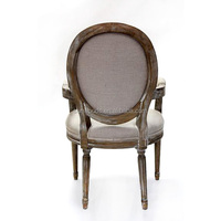 Antique wood high back dining beauty living room furniture chair