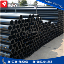 Factory price sdr 11 hdpe 160mm water tube polyethylene pipe for water supply
