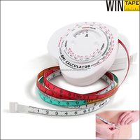 Personalized Medical Gifts Heart Shape BMI Calculator Weight And Height Body Scale Tape Measure