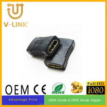 New style hdmi adapter hdmi 1male to hdmi 2female double cable