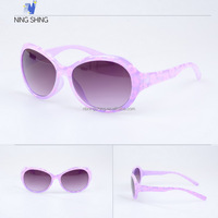 2015 Top-Selling Gradient Ramp Lens Floral Print Kid Sunglasses