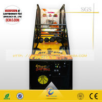 video game console simulator driving car racing game machine street basketball arcade game machine WD-B05