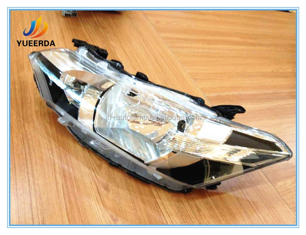 Hot Selling 12V 4 Door Auto for Toyota Vios/Yaris 2014 Head Lamp,Car Accessories Body Kits