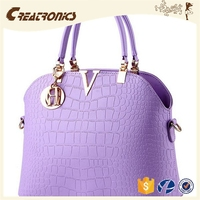 CR Sample available good quality shoulder bag long strap small square pattern purple color womens purse wholesale