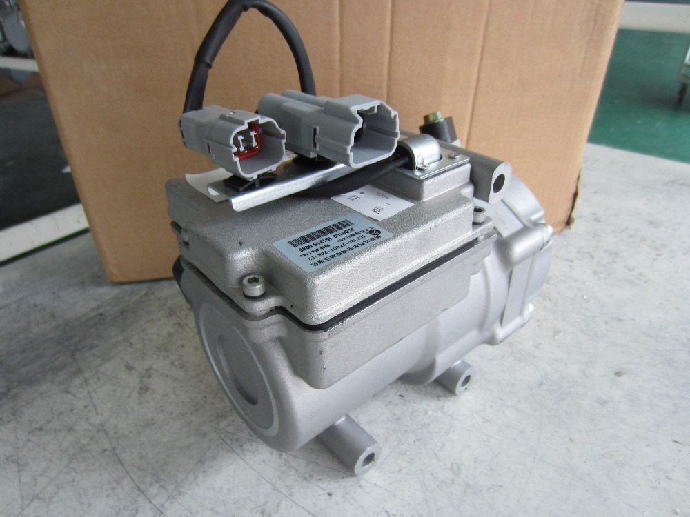 CE scroll <strong>R134a</strong> 108v dc compressor A/C HAVC refrigeration cooling air condition air conditioning air conditioning